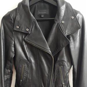 Mackage aritzia exclusive leather jacket